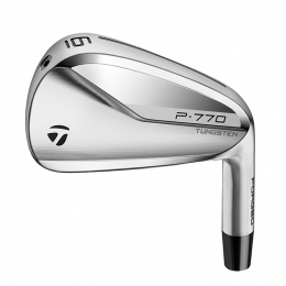 TAYLORMADE P770 IRONS (IRON ORIENTATION: RH, P SERIES SET COMPOSITION: 5-P, P SERIES STOCK SHAFT OPTIONS: KBS C-TAPER LITE 1O5 REG, GRIP OPTIONS: STOCK)